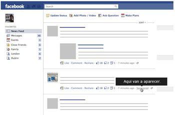 facebook historias patrocinadas
