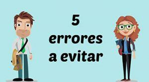 5 errores a evitar en tu sitio web [Video]