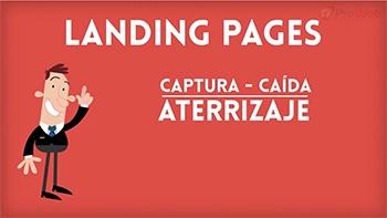 Qué son las Landing Pages páginas de caída o aterrizaje y como usarlas